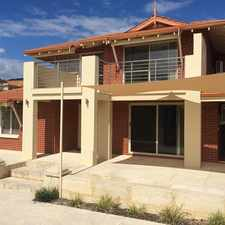 Rental info for Spacious 4x2, Walk to Beach, Ocean Views in the Mindarie area