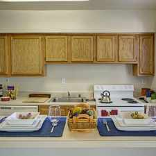Rental info for Downstairs unit. ceramic tile floors, microwave, oven, stove included. Off street parking.