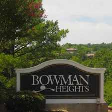 Rental info for Bowman Heights