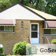 Rental info for *** BEAUTIFUL 4 BEDROOM HOUSE - READY NOW FOR RENT @ 124TH & EGGLESTON *** in the Chicago area