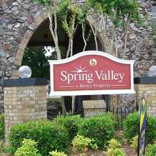 Rental info for Spring Valley Apartments