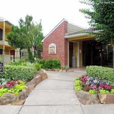 Rental info for Del Lago in the Houston area
