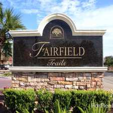 Rental info for Fairfield Trails
