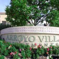 Rental info for Arroyo Villa Apartments