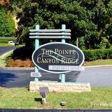 Rental info for Pointe at Canyon Ridge