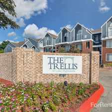 Rental info for Trellis at Lake Highlands, The