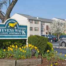 Rental info for Stevens Walk