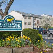 Rental info for Stevens Walk