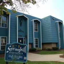 Rental info for Springhill in the 46254 area