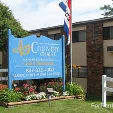 Rental info for Country Chalet