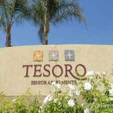 Rental info for Tesoro Senior Apartments in the Los Angeles area