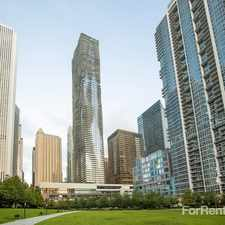 Rental info for Aqua at Lakeshore East Apartments in the Chicago area