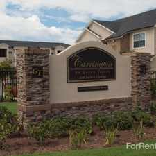 Rental info for Carroll At Green Trails
