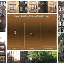 Rental info for Slater Realty Uptown and Lakeview Neighborhood Apartments in the Chicago area