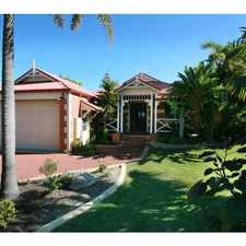 Rental info for SWEEPING OCEAN VIEWS in the Mosman Park area