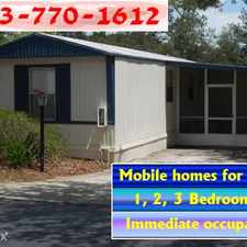 Rental info for Ralston Beach Mobile Home Park