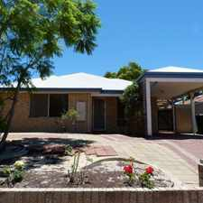 Rental info for Live The Coastal Lifestyle in the Perth area