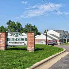 Rental info for Heathermoor I & II Apartments in the Weirton area