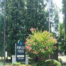 Rental info for Poplar Pines and Poplar Pines West in the Memphis area