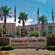 Rental info for Vintage at Seven Hills in the Henderson area
