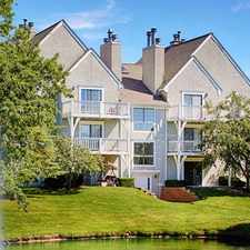 Rental info for Hunters Pointe Apartments and Townhomes in the Overland Park area