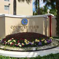 Rental info for Country Club Towers in the Miami Gardens area