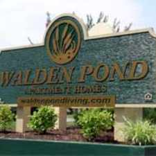 Rental info for Walden Pond Apartment Homes in the Lynchburg area