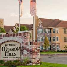 Rental info for Park at Mission Hills in the Tulsa area