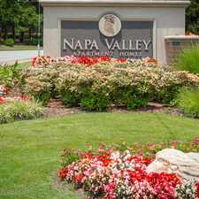 Rental info for Napa Valley Apartment Homes in the Little Rock area