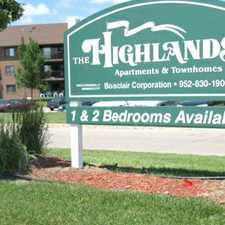 Rental info for The Highlands in the Bloomington area
