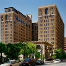 Rental info for The Residences at Rodney Square in the Wilmington area