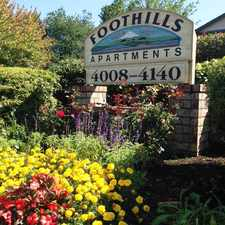 Rental info for Foothills Apartments in the Gresham area