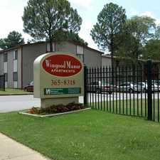 Rental info for Wingood Manor in the Memphis area