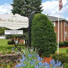 Rental info for Westside Colonial Apartments in the Brockton area