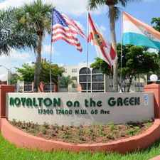Rental info for Royalton on the Green in the Pinecrest area
