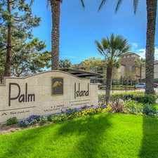 Rental info for Palm Island Senior Apartment Homes in the Fountain Valley area