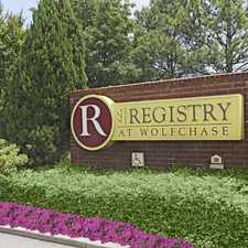 Rental info for Registry at Wolfchase in the Memphis area