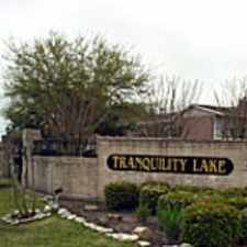 Rental info for Tranquility Lake in the Houston area