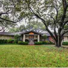 Rental info for $4500 4 bedroom House in Fort Worth Tanglewood in the Fort Worth area