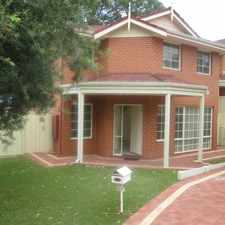 Rental info for AVAILABLE NOW.... in the Perth area