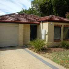 Rental info for VERY TIDY 3 X 2 WITH EASY CARE GARDENS & GOOD SIZED OPEN PLAN LIVING SPACE & AIR CON
