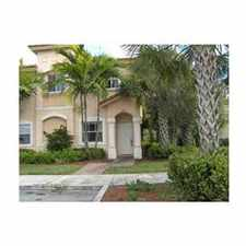 Rental info for LOVELY GATED RESORT STYLE COMMUNITY - MID MIRAMAR in the Pembroke Pines area