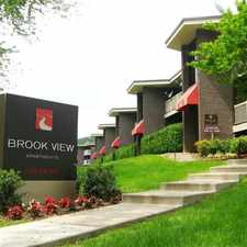 Rental info for Brook View Apartments in the Baltimore area