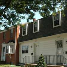 Rental info for Eastfield Townhomes