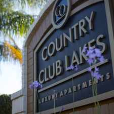 Rental info for Country Club Lakes