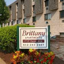 Rental info for The Brittany in the Pittsburgh area