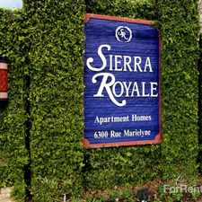 Rental info for Sierra Royale Apartments