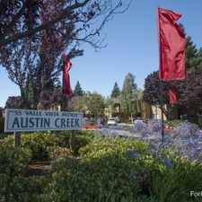 Rental info for Austin Creek
