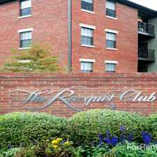 Rental info for The Racquet Club