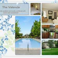 Rental info for The Valencia
